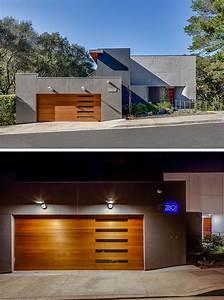 Porte De Garage Bois : porte de garage bois massif en 18 propositions originales ~ Melissatoandfro.com Idées de Décoration
