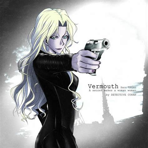 anime with detective and detective conan vermouth magic kaito 1412 dectective