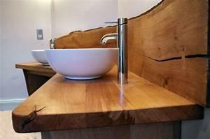 Waschbecken Mit Holzplatte : doppelwaschtisch mit aufsatzbecken 50 moderne sets ~ Michelbontemps.com Haus und Dekorationen
