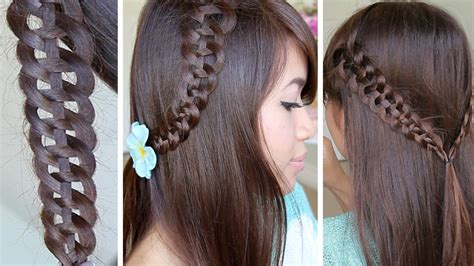 strand   braid hairstyle hair tutorial youtube