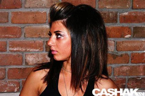 Medium Length Dark Hair With Caramel Highlights.... With