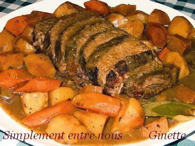 cuisiner basse c e de boeuf le palais gourmand rti de palette de boeuf facile