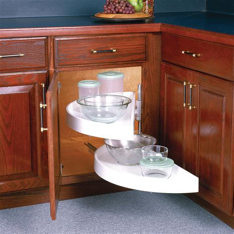 lazy susans for kitchen cabinets knape vogt 17 in x 33 88 in x 16 in half moon glide 8926