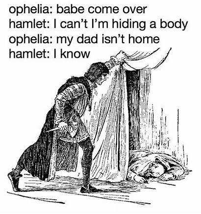 Funny Hamlet Memes Shakespeare Dad Ophelias Polonius