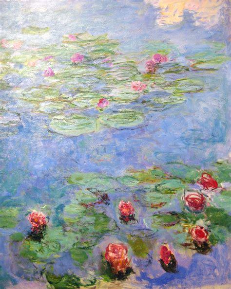 white light monet water lilies claude monet 39 s water lilies circa