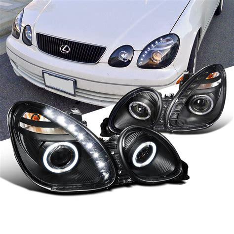 98-05 Lexus Gs300 Gs400 Angel Eye Halo / Led Drl Projector
