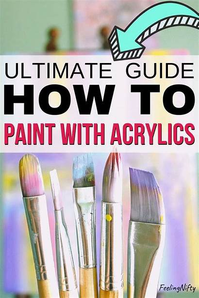 Paint Acrylic Ultimate Guide Beginners Painting Paintings