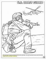 Coloring Pages Guard Coast Military Forces Printable Armed Army War United States Soldiers National American Activity America Books Colorings Getdrawings sketch template