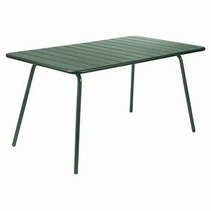 Table luxembourg fermob 143 x 80 cm for Ordinary fermob jardin du luxembourg 6 table luxembourg fermob 143 x 80 cm