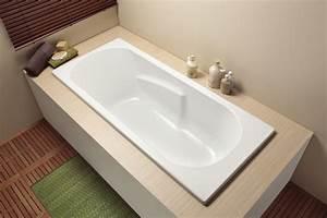 Baignoire Avec Pied : baignoire rectangulaire placy rectangulaire aquarine ~ Edinachiropracticcenter.com Idées de Décoration