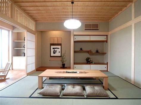 desain ruang tamu duduk  lantai ala jepang