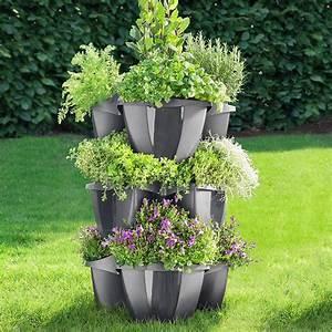 Pro Idee Garten : pflanzturm 3 st ckig 3 jahre garantie pro idee ~ Watch28wear.com Haus und Dekorationen
