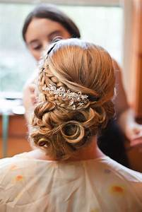 Wedding Hairstyle Ideas Elegant Bridal Updo With Hair