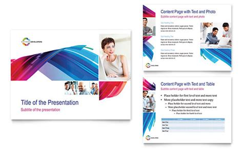 Software Brochure Templates Costumepartyrun