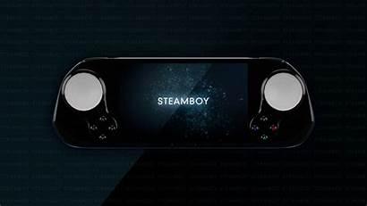 Steam Machine Handheld Valve Steamboy Into Turn