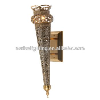 arab islamic decoration lobby entrance dubai wall light