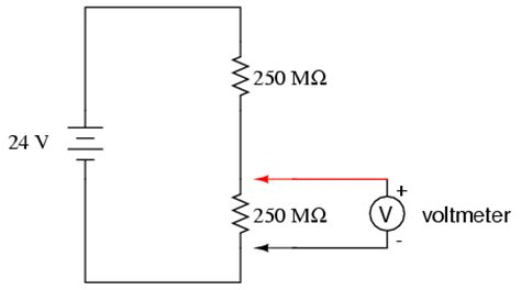 Voltmeter Impact Measured Circuit Metering
