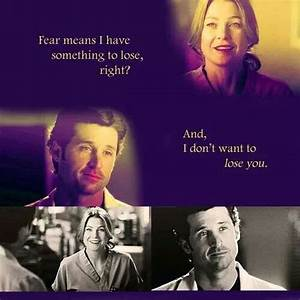 Here's Why De... Mcdreamy Love Quotes
