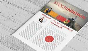 4 adobe indesign newsletter templates af templates for Stock indesign
