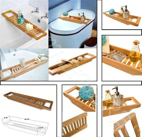Bamboo Bath Caddy Uk by 1000 Ideas About Bath Rack On Corner Shower