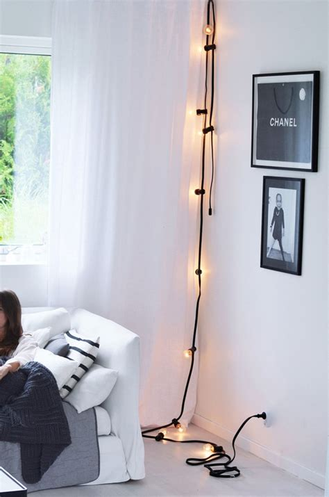 light decoration ideas for home 33 awesome diy string light ideas
