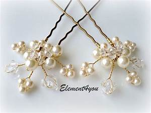 Gold And Pearl Hair Accessories WRSNH