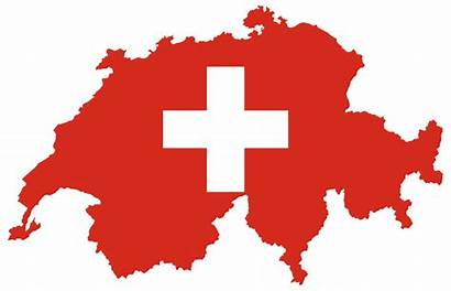 Switzerland Flag Clip Map Onlinelabels