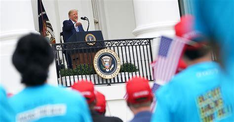 trump crowd oct covid 10th mask week he caleb howe rally blexit october mediaite getty had