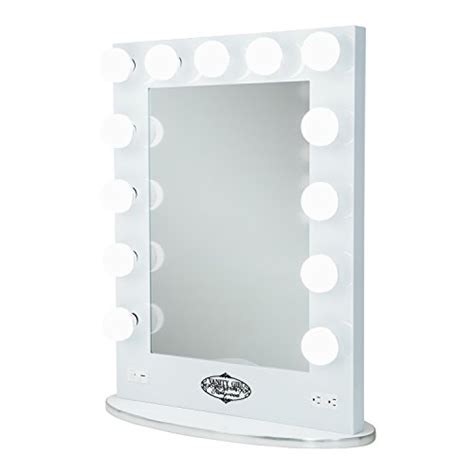 white vanity broadway lighted vanity mirror with 2