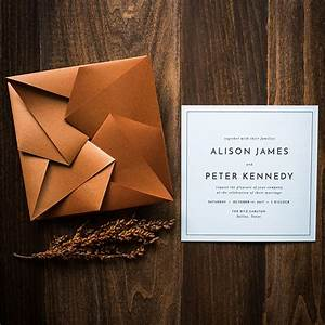 20 event invitation designs to impress your guests hongkiat With origami wedding invitations from paper bird design