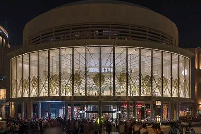 Dubai Apple Mall Foster Partners Kinetic Architecture