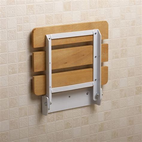 small bathroom spaces with wood wall mounted folding