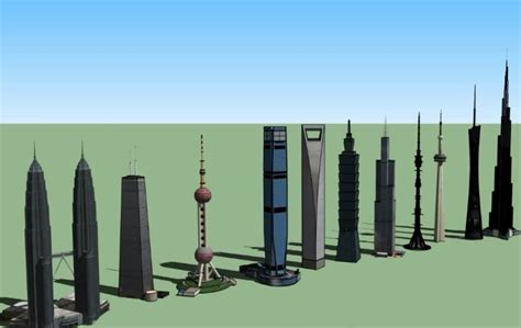 Highest Buildings Of Today - YouTube