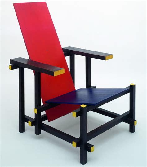la chaise et bleu 1918 1932 avant garde et fonctionalisme de stijl bronzo