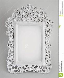 Ornate white frame stock photo. Image of decorative ...