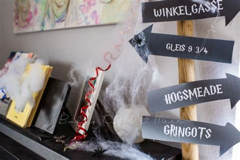 lillis harry potter party inspirationen familie baby