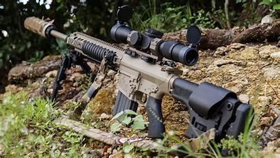 Sniper Rifle M110 Gun Ar Rifles Sass