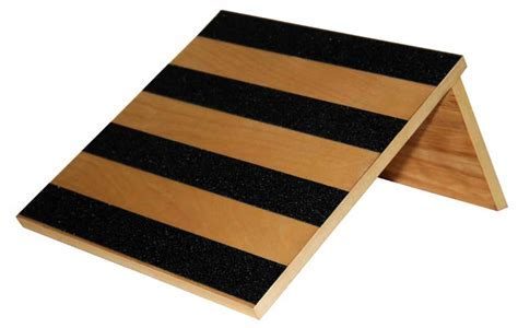 Slant Board, 30 degree, Birch Wood with Safety Treads