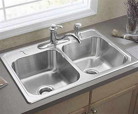 best sink material for water 3 miracles two bowl kitchen sink vs one bowl