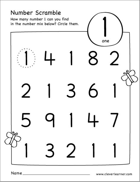 number 1 activities for preschoolers number one worksheet preschool printable activities number 731