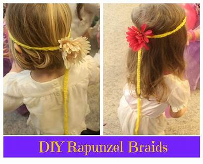 Rapunzel Braid Party Tangled Birthday Flynn Rider