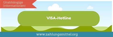 visa hotline hier sperren sie ihre kreditkarte