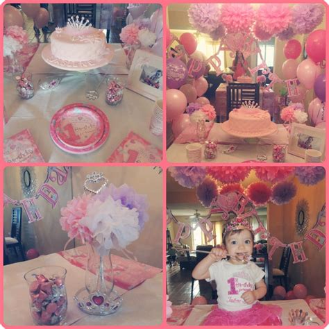 1st birthday ideas for baby girl party themes inspiration my baby girl 39 s birthday princess party