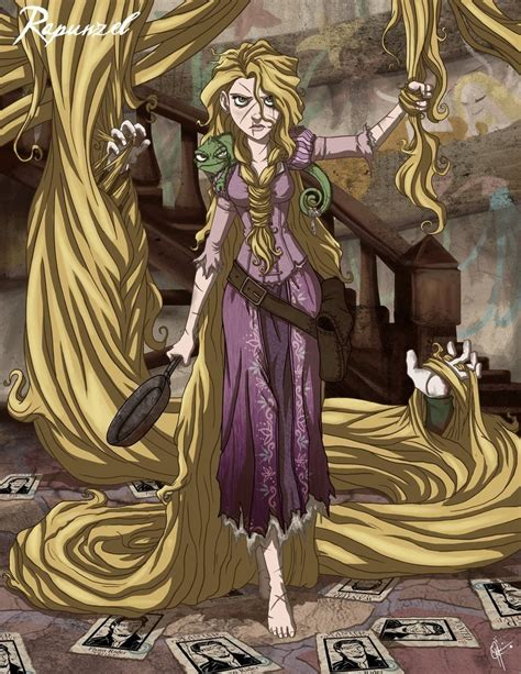 Twisted Image Twisted Princesses Images Twisted Rapunzel Hd Wallpaper