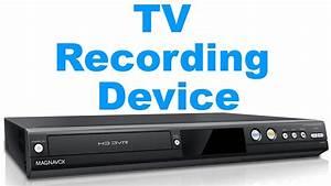 TV Recording Device - DVR Recorder For TV - YouTube