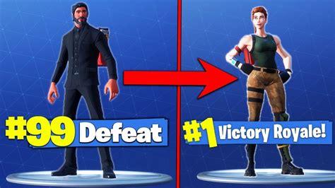 expensive skins   lose  fortnite battle