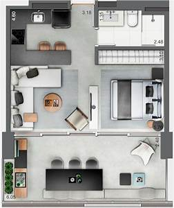 Inspiring, Apartment, Layout, Design, Ideas, You, Definitely, Like