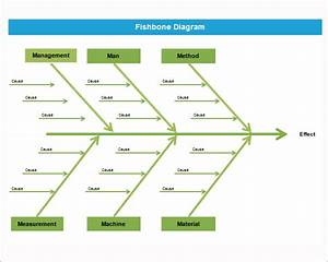 Fishbone Diagram Template madinbelgrade