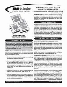 Emi Wlca Air Conditioner User Manual