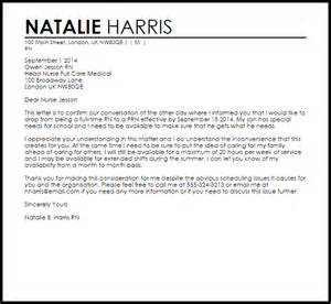 resume templates for jobs resignation letter from fulltime to prn livecareer